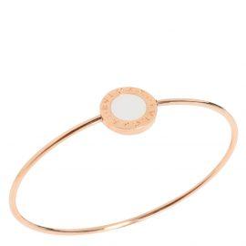 Bvlgari Bvlgari Bvlgari 18K Rose Gold Mother of Pearl Bracelet 15