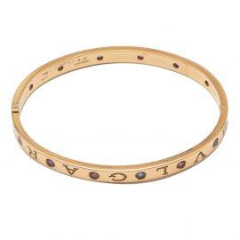 Bvlgari Bvlgari Rose Gold Bangle Bracelet Size M