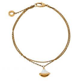 Bvlgari Divas' Dream Mother of Pearl 18K Yellow Gold Bracelet ML