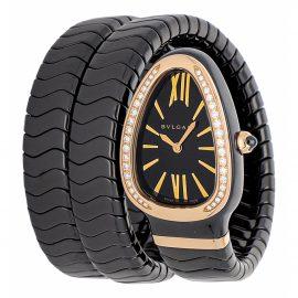 Bvlgari Serpenti ceramic watch