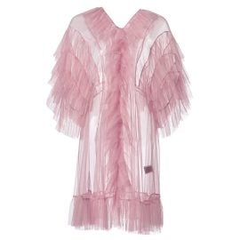 By Moumi - Tulle Babydoll In Dusty Pink