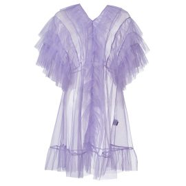 By Moumi - Tulle Babydoll In Lavender