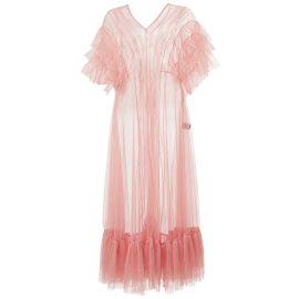 By Moumi - Tulle Dress In Azalea