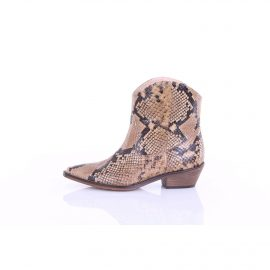 CHIARINI BOLOGNA Boots Texans / biker Women python