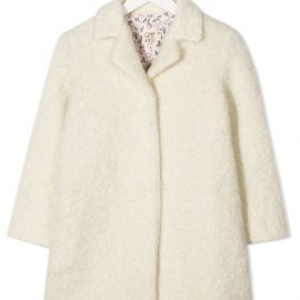 Caffe' D'orzo single-breasted wool coat - White