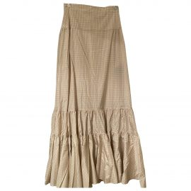 Calvin Klein 205W39Nyc Silk maxi skirt