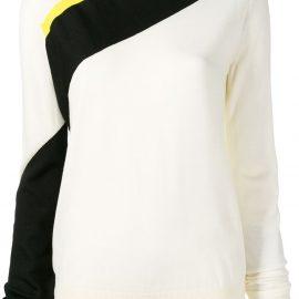Calvin Klein 205W39nyc diagonal stripe jumper - Neutrals