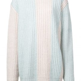 Calvin Klein 205W39nyc knitted sweater - Blue