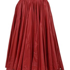 Calvin Klein A-line Skirt Red