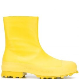 CamperLab rain ankle boots - Yellow