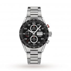 Carrera Automatic Chronograph Calibre 16 Day-Date 43mm Mens Watch
