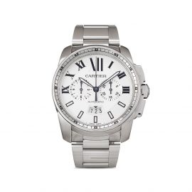 Cartier 2012 pre-owned Calibre Chronograph 42mm - Silver