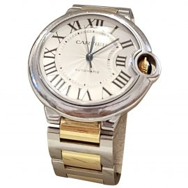 Cartier Ballon bleu Grey Steel Watch for Women