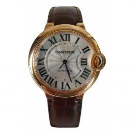 Cartier Ballon bleu Pink Pink gold Watch for Women