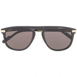 Cartier Eyewear Première de Cartier D-frame sunglasses - Black