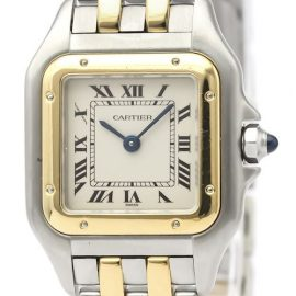 Cartier Panthere De Cartier Quartz Stainless Steel,Yellow Gold [18K] Women's Dress Watch -, Gold