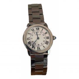 Cartier Ronde Solo silver watch