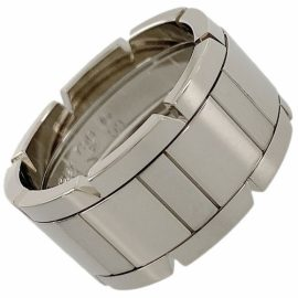 Cartier Tank Française Silver White gold Ring for Women