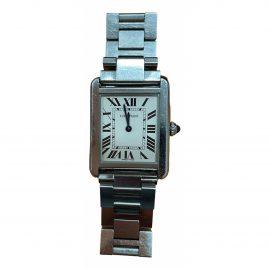 Cartier Tank Solo Silver Silver Watch for Women