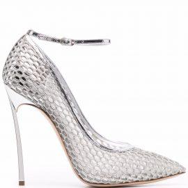 Casadei Blade Webster stiletto pumps - Silver