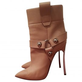 Casadei N Brown Leather Ankle boots for Women