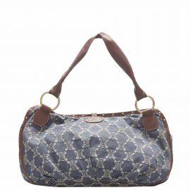 Celine Blue Fabric Denim Bittersweet Shoulder Bag