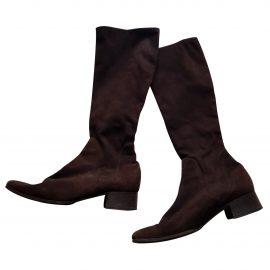 Celine Claude wellington boots