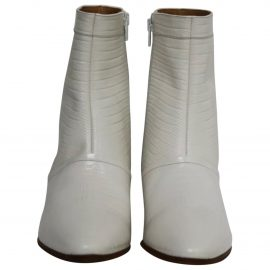 Celine Cowboy leather western boots