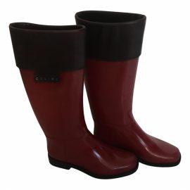 Celine Wellington boots