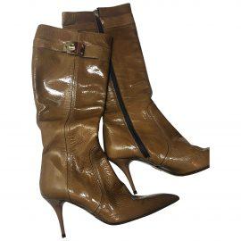 Cesare Paciotti Leather cowboy boots