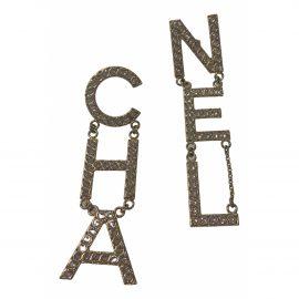 Chanel CHANEL Gold Metal Earrings for Women