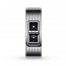 Chanel CODE COCO Steel and Diamond H5145 38x21.5mm