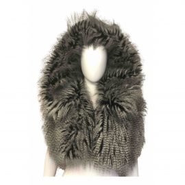 Chanel Faux fur jacket