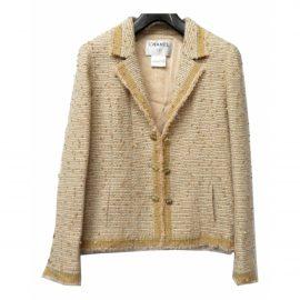 Chanel Gold Tweed Jacket