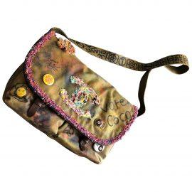 Chanel Graffiti cloth crossbody bag