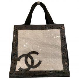 Chanel Grand shopping cloth travel bag