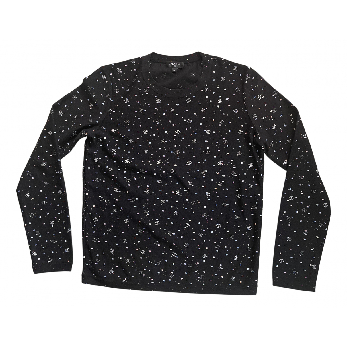 Chanel N Black Cotton Top for Women