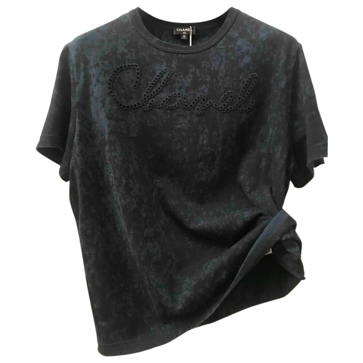 Chanel N Blue Cotton Top for Women