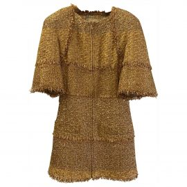 Chanel N Gold Jacket for Women