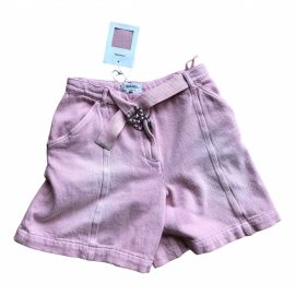 Chanel N Pink Cotton Shorts for Women