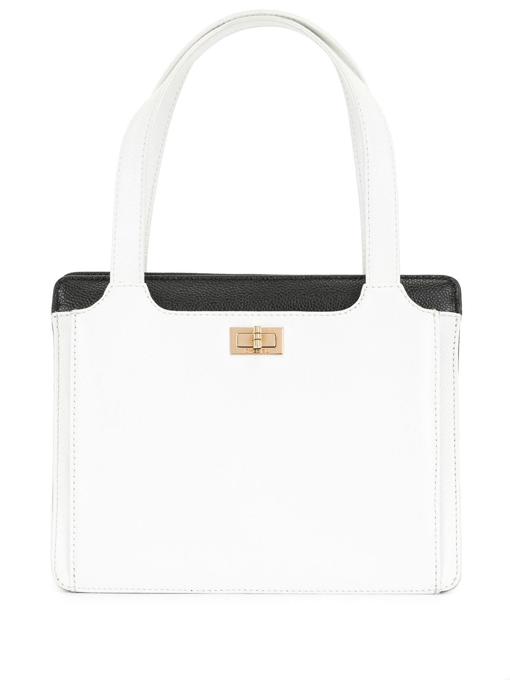 Chanel Pre-Owned 1998 2.55 Line tote bag - White