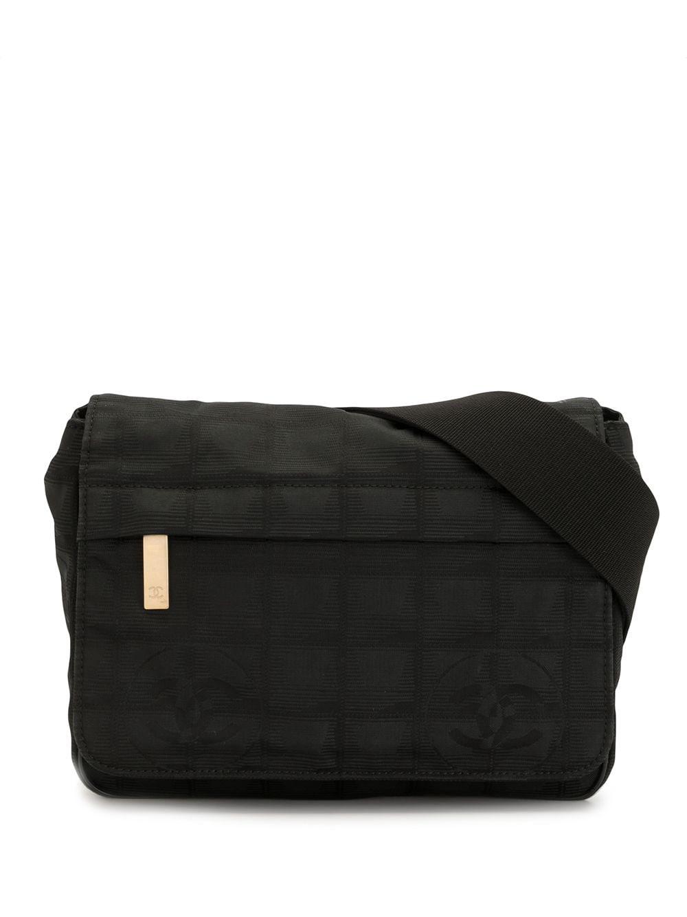 Chanel Pre-Owned 2005 CC logo belt bag - Black
