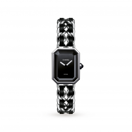 Chanel Premiere Steel and Leather Watch