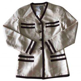 Chanel Silk suit jacket