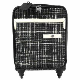Chanel Tweed travel bag
