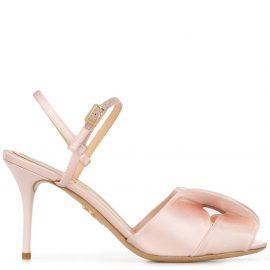 Charlotte Olympia Drew slingback sandals - PINK