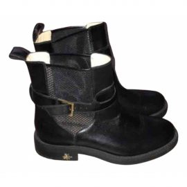 Charlotte Olympia Leather biker boots