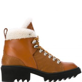 Chloé Bella mountain ankle boots - Brown