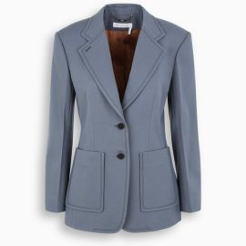 Chloé Blue tight at the waist jacket