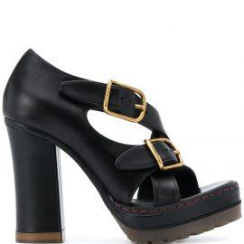 Chloé Daisy platform sandals - Black